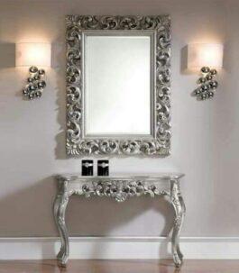 Silver Eye mirror
